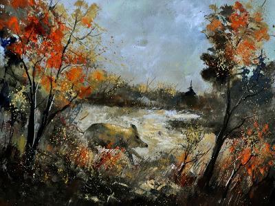 Wild Boar 56-Pol Ledent-Art Print
