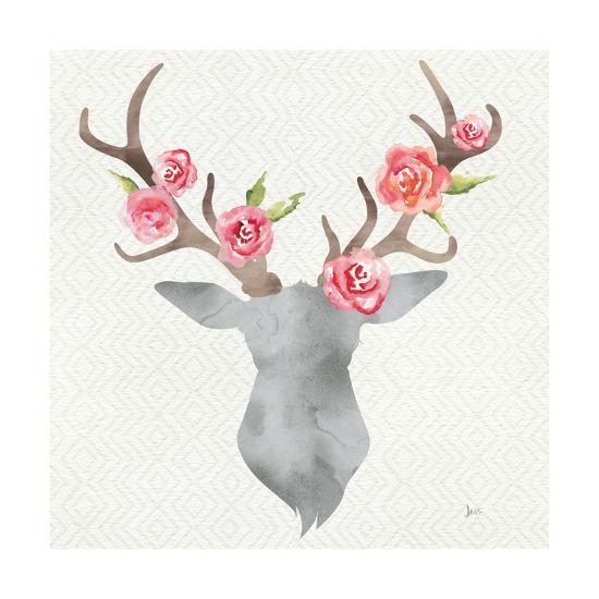 Wild Bohemian I no gold-Jess Aiken-Art Print