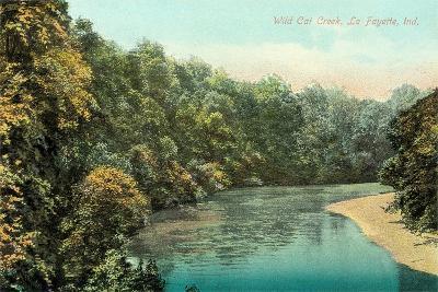 Wild Cat Creek, Lafayette--Art Print