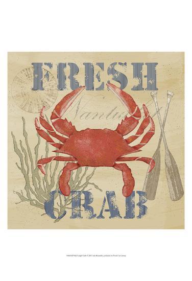 Wild Caught Crab-Jade Reynolds-Art Print