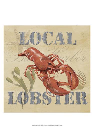 Wild Caught Lobster-Jade Reynolds-Art Print