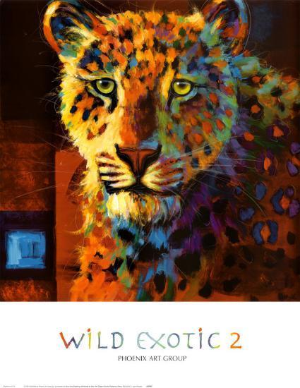 Wild Exotic II-John Douglas-Art Print
