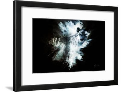 Wild Explosion Collection - The Hyena-Philippe Hugonnard-Framed Art Print