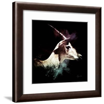 Wild Explosion Square Collection - The Impala-Philippe Hugonnard-Framed Art Print