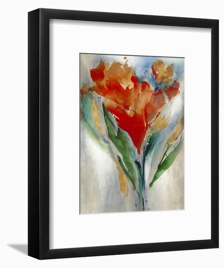 Wild Flower Bouquet-Leah Rei-Framed Art Print