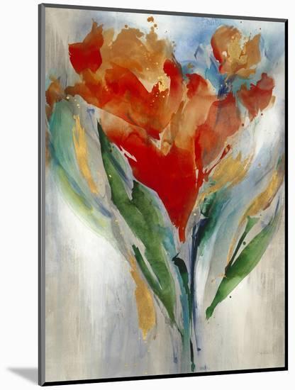 Wild Flower Bouquet-Leah Rei-Mounted Art Print
