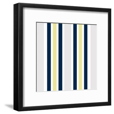Wild Flower Day Pattern-Kimberly Allen-Framed Art Print