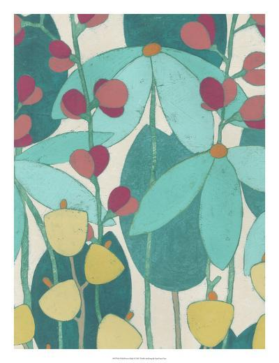 Wild Flower Glade I-June Erica Vess-Art Print