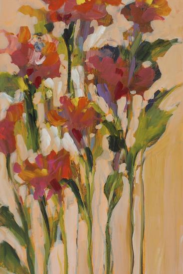 Wild Flowers I-Jane Slivka-Premium Giclee Print