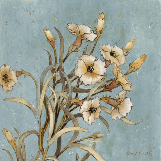 Wild Flowers on Blue I-Lanie Loreth-Art Print