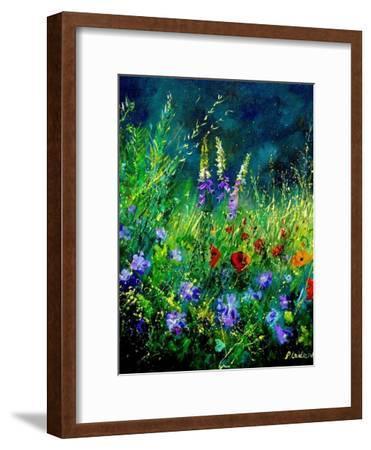 Wild flowers-Pol Ledent-Framed Art Print