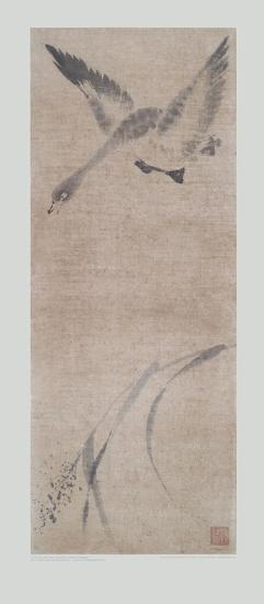 Wild Goose Pitching- Mu-Chi-Collectable Print