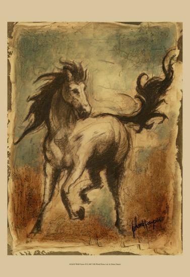 Wild Horses II-Ethan Harper-Art Print
