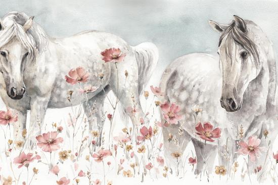 Wild Horses III-Lisa Audit-Art Print