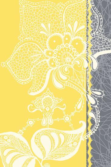 Wild Lace II-Ingrid Van Den Brand-Art Print