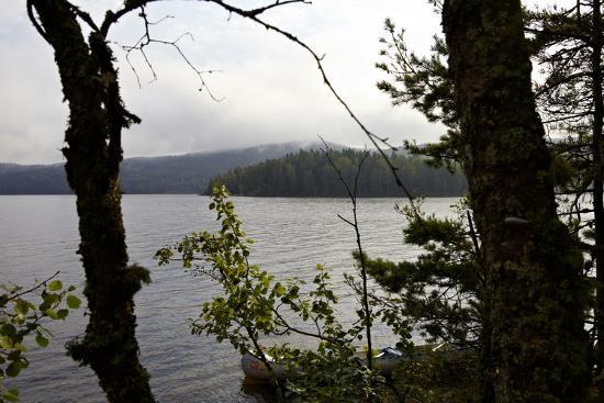 Wild landscape, Lelång Lake, Dalsland, Götaland, Sweden-Andrea Lang-Photographic Print