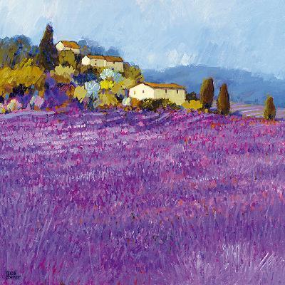 Wild Lavender, Provence-Hazel Barker-Art Print