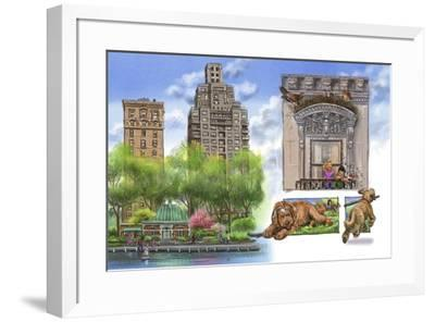 Wild Ones spread 21-Cathy Morrison Illustrates-Framed Giclee Print