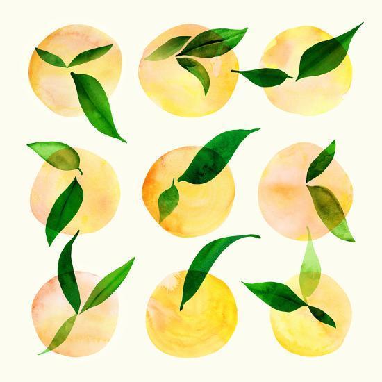 Wild Orchard Ii-Modern Tropical-Art Print