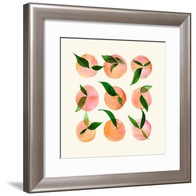 Wild Orchard-Modern Tropical-Framed Art Print