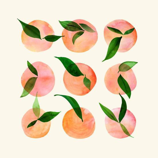 Wild Orchard-Modern Tropical-Art Print