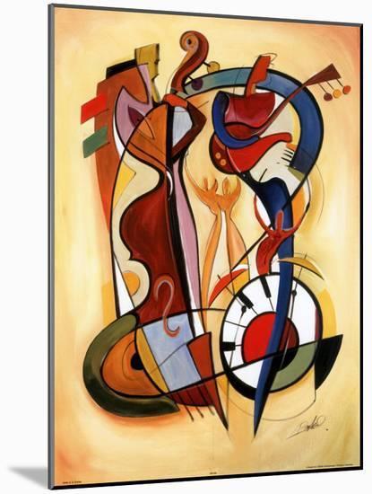 Wild Party I-Alfred Gockel-Mounted Art Print