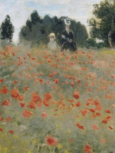 Wild Poppies-Claude Monet-Art Print