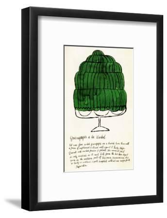 Wild Raspberries, c.1959  (green)-Andy Warhol-Framed Art Print