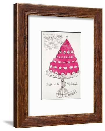 Wild Raspberries, c.1959  (pink)-Andy Warhol-Framed Art Print