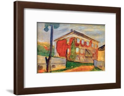 Wild Red Vine, 1898-Edvard Munch-Framed Giclee Print