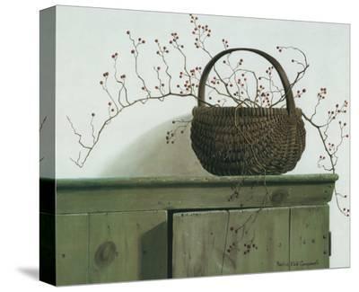 Wild Rose Berries, 1987-Pauline Ebl? Campanelli-Stretched Canvas Print