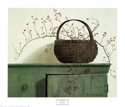 Wild Rose Berries-Pauline Ebl? Campanelli-Art Print