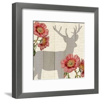 Wild Silhouette 1-Kimberly Allen-Framed Art Print