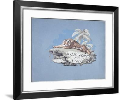 Wild Sports of the East--Framed Giclee Print