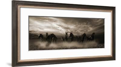 Wild Stampede-Malcolm Sanders-Framed Giclee Print