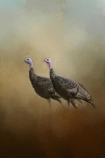 Wild Turkey at Shiloh-Jai Johnson-Giclee Print