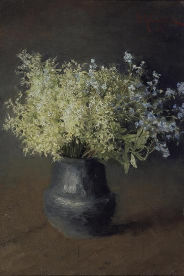 Wild Violets and Forget-Me-Nots, 1889-Isaak Ilyich Levitan-Giclee Print
