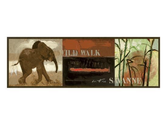 Wild Walk-Joadoor-Art Print