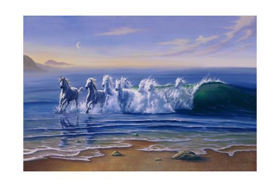 Wild Waters-Jim Warren-Giclee Print