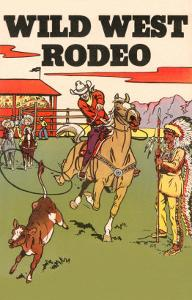 Wild West Rodeo, Calf Roping