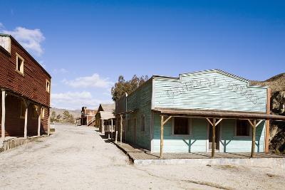 Wild West Town-aluxum-Photographic Print