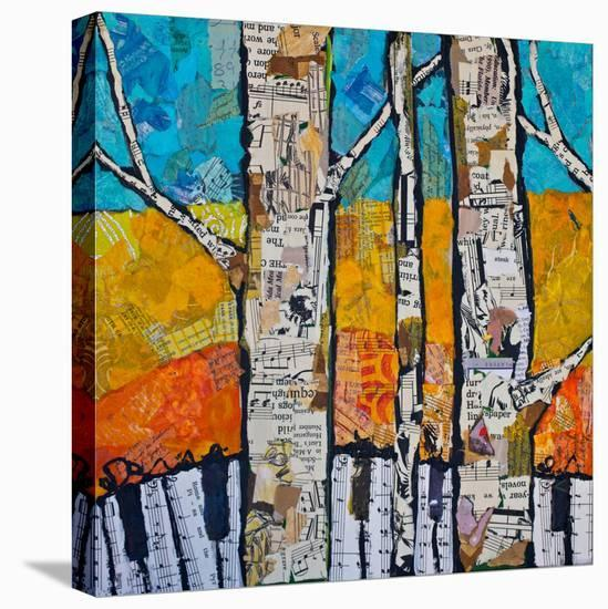 Wild White 2--Stretched Canvas Print