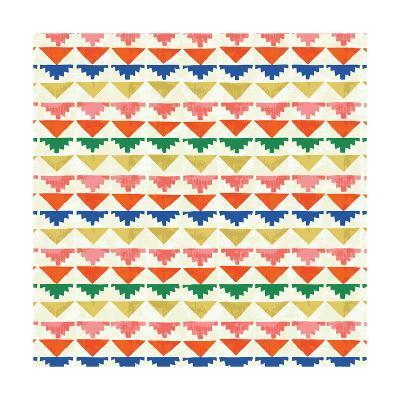 Wild Wood Tiles II Bright--Art Print