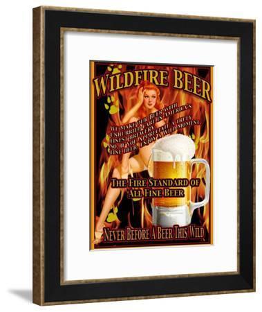 Wildfire Beer-Nomi Saki-Framed Giclee Print