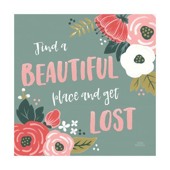 Wildflower Daydreams VIII-Laura Marshall-Art Print