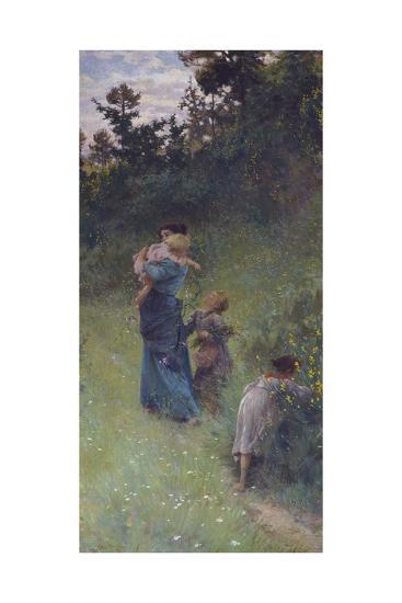 Wildflowers, 1896-Francesco Gioli-Giclee Print