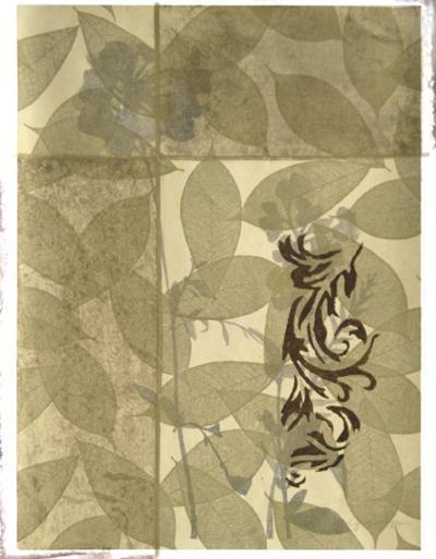 Wildflowers and Filigree II-Jennifer Goldberger-Giclee Print