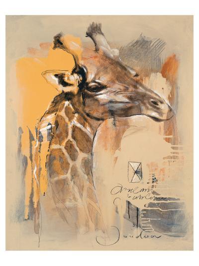 Wildlife Giraffe-Joadoor-Art Print