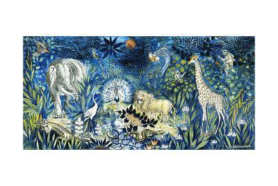 Wildlife Paradise; Tierparadies, 1939-Oskar Schlemmer-Giclee Print