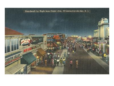 Wildwood-by-the-Sea, New Jersey--Art Print